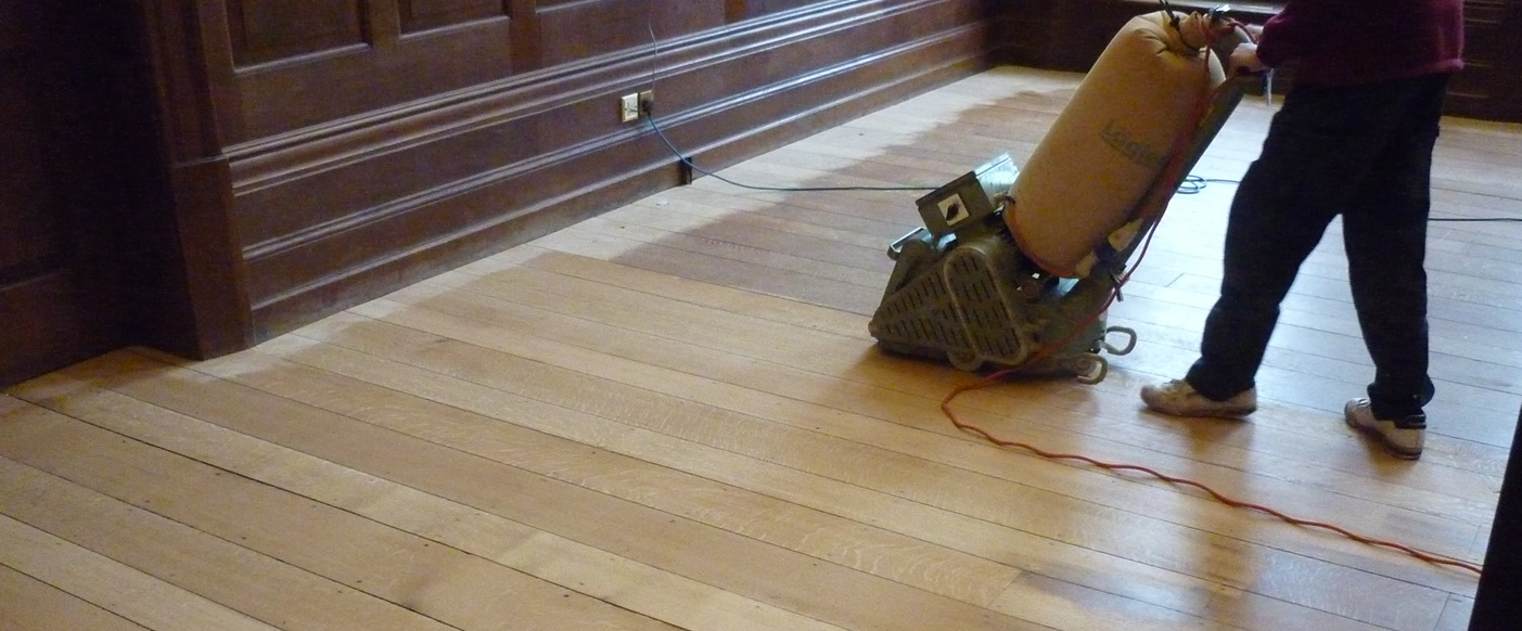 Commercial Floor Sanding by Alresford Interiors